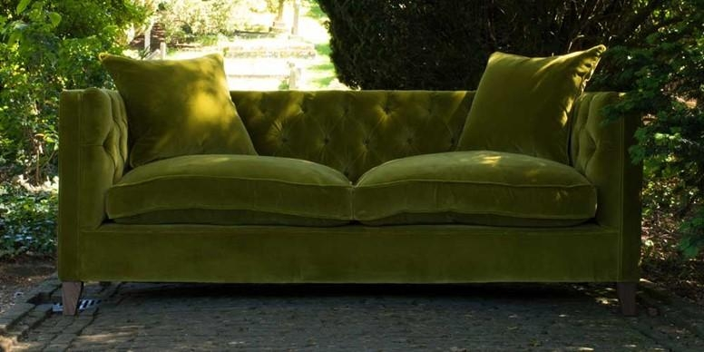 Green Sofa Ideas | Sofas & Stuff Blog Intended For Green Sofas (Image 15 of 20)
