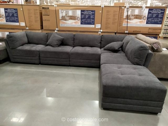 Grey Sectional Sofa Costco – Home Design Ideas And Pictures With Regard To 6 Piece Sectional Sofas Couches (Image 17 of 20)