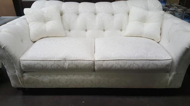 Grossman Online Store | Ethan Allen White Sofa & Chair – $600 Intended For Allen White Sofas (Image 14 of 20)