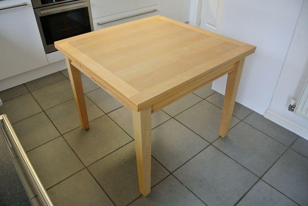 Habitat Extending Dining Table (Birch Wood) | In Alton, Hampshire With Birch Dining Tables (Image 9 of 20)