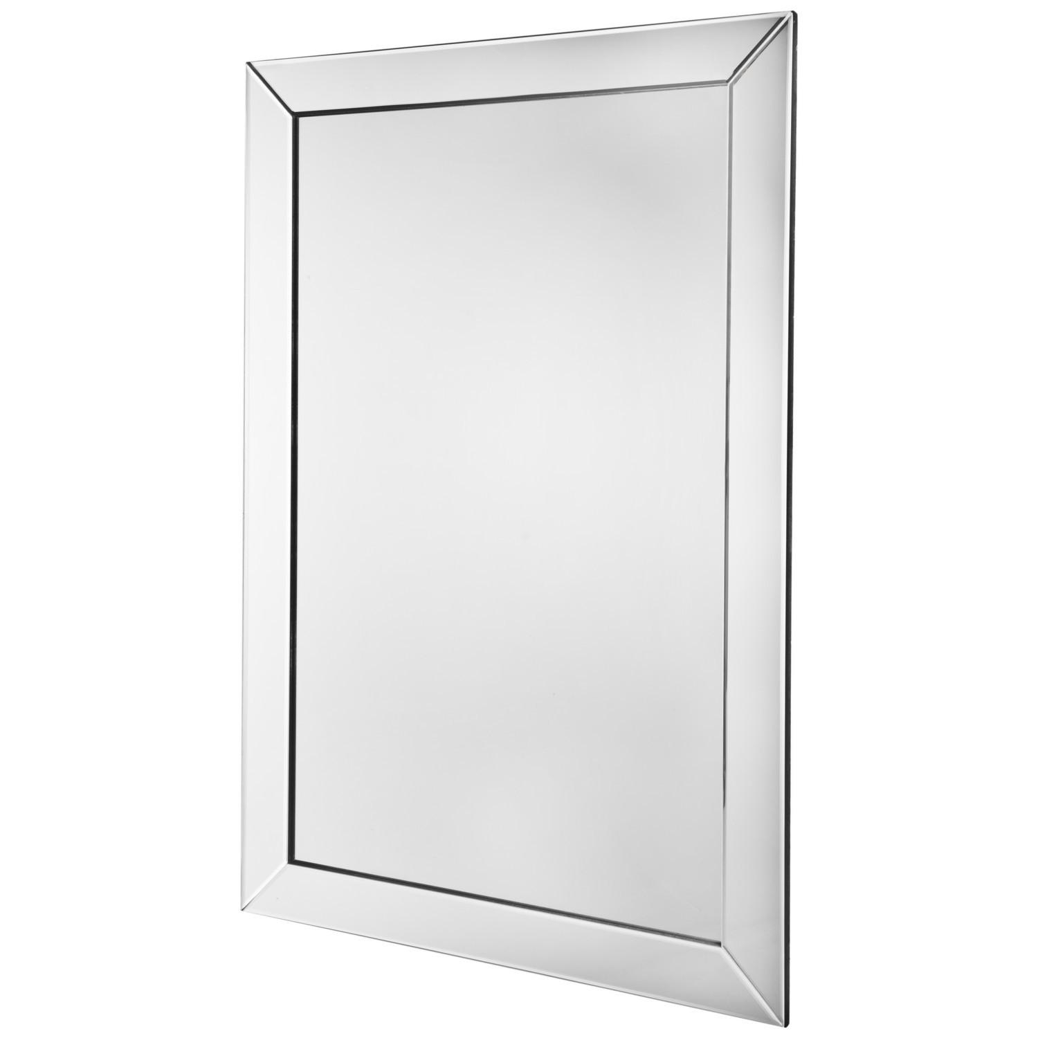 Hamilton Bevelled Mirror With Square Bevelled Mirror (Image 11 of 20)