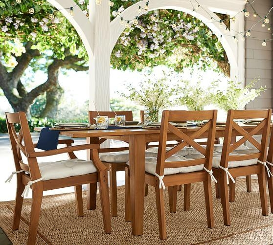 Hampstead Teak Rectangular Extending Dining Table – Honey Regarding Extending Outdoor Dining Tables (Image 18 of 20)