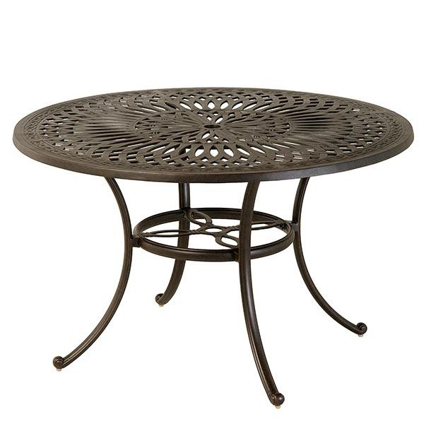 "Hanamint Mayfair 48""round Dining Table 