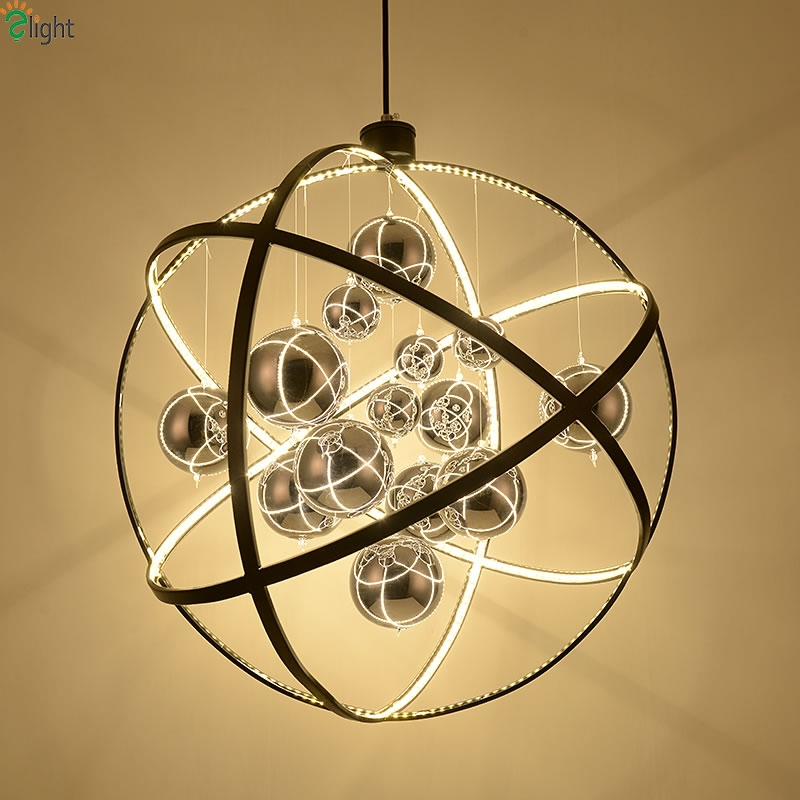 Featured Image of Metal Ball Chandeliers