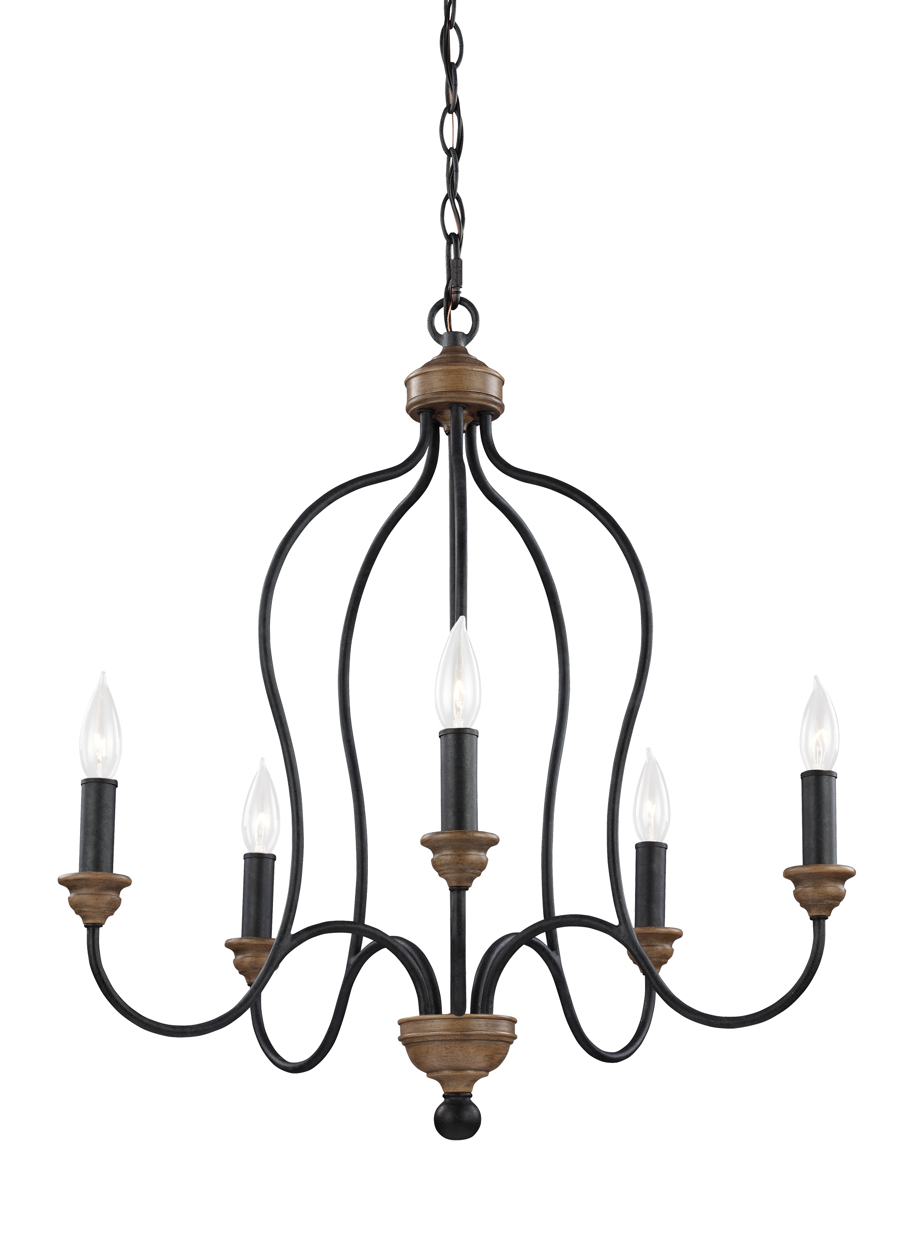 Hartsville Collection From Feiss For Feiss Chandeliers (Image 10 of 25)