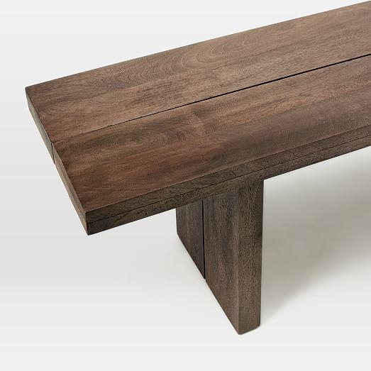 Hayden Dining Bench | West Elm Pertaining To Hayden Dining Tables (Image 5 of 20)