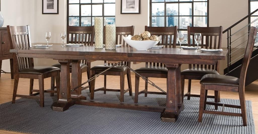 Hayden Trestle Dining Tabe With Hayden Dining Tables (Image 16 of 20)