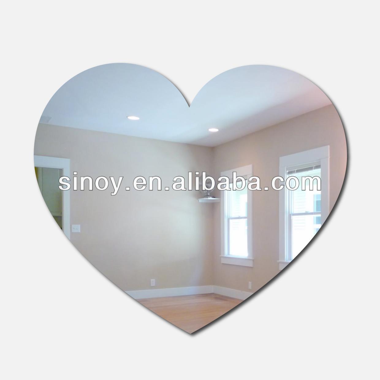 Heart Shape Craft Mirror Wholesale, Heart Shape Craft Mirror In Heart Shaped Mirror For Wall (View 13 of 20)