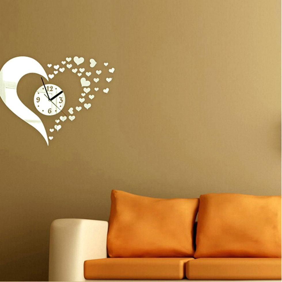Heart Shape Venetian Wall Mirror 2Ft8 80Cm Lightbox Moreviewlarge Pertaining To Heart Shaped Mirrors For Walls (Image 6 of 20)