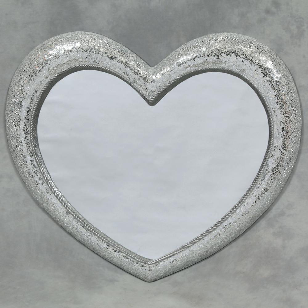 Heart Shaped Mirror For Wall – Shopwiz Inside Heart Shaped Mirror For Wall (View 2 of 20)