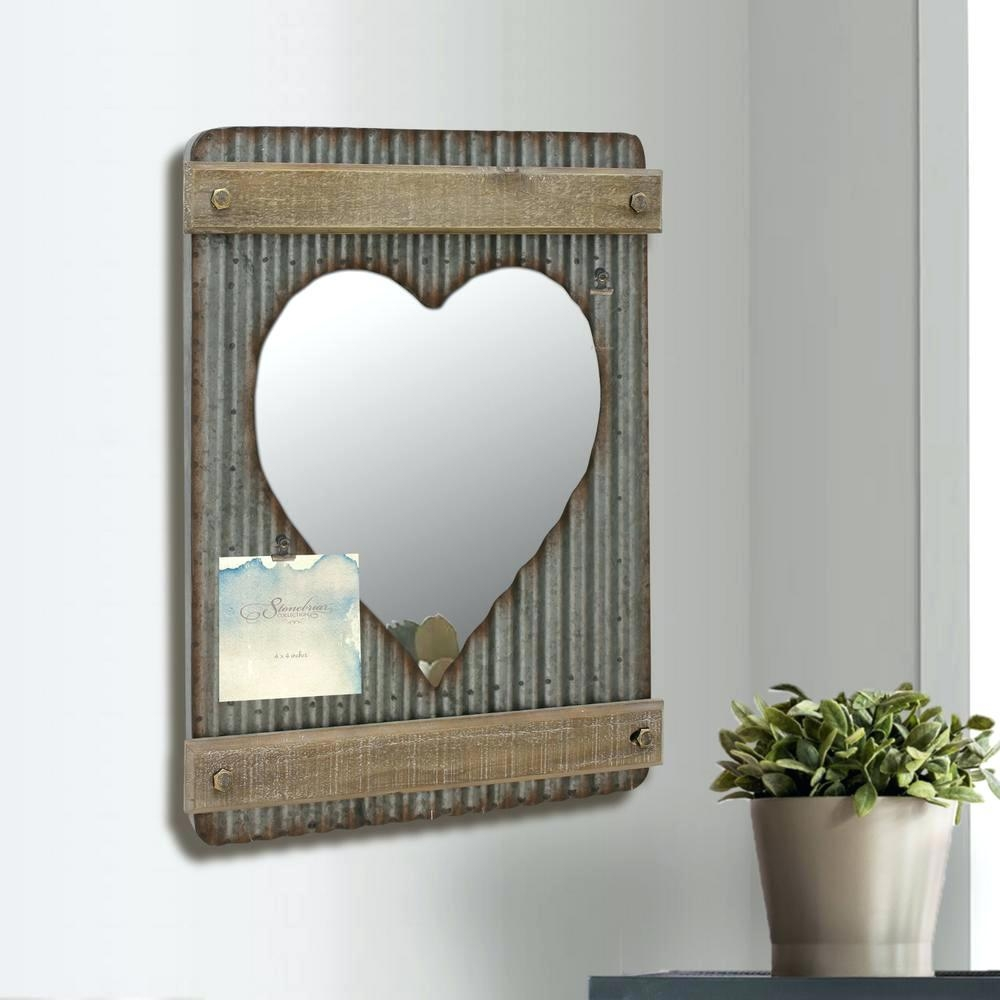 Heart Shaped Mirror For Wall – Shopwiz Within Heart Shaped Mirrors For Walls (Image 10 of 20)