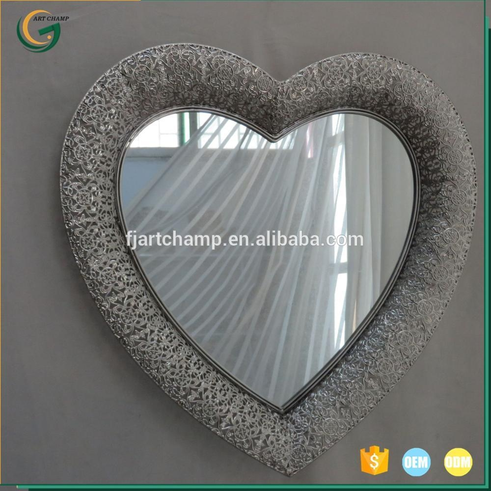 Heart Shaped Wall Mirrors, Heart Shaped Wall Mirrors Suppliers And Intended For Heart Shaped Mirror For Wall (Image 7 of 20)