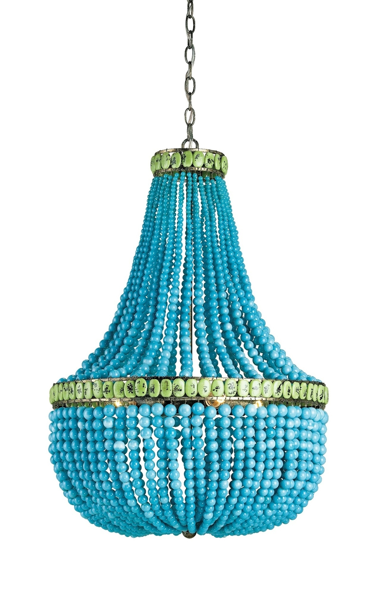 Hedy Chandelier Lighting Currey And Company Intended For Turquoise Chandelier Lights (View 6 of 25)