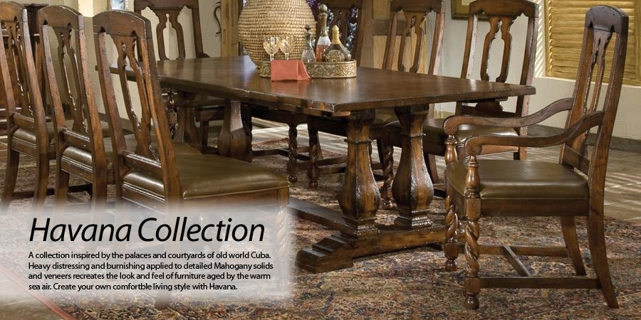 Hekman Furniture – Havana – Category Pertaining To Havana Dining Tables (Image 12 of 20)