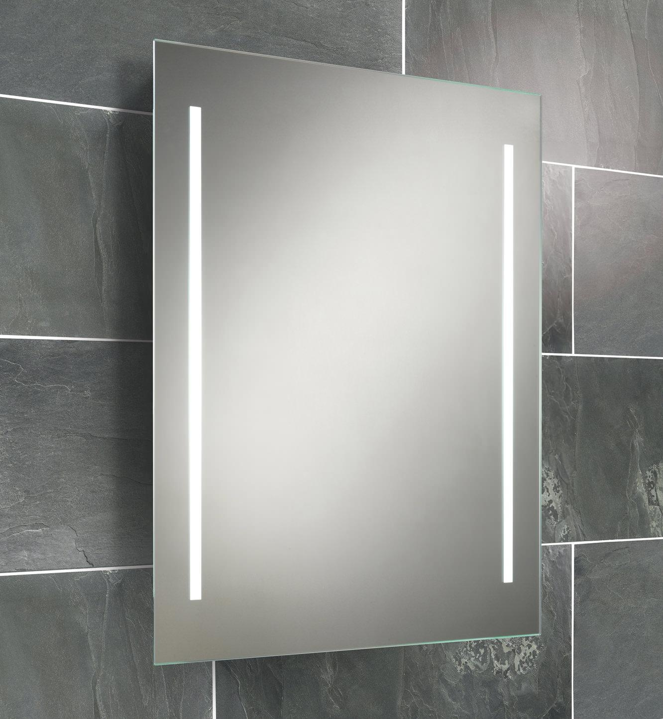 Hib Casey Fluorescent Back Lit Mirror 600 X 800Mm | 77309000 Regarding Large Illuminated Mirror (Image 12 of 20)