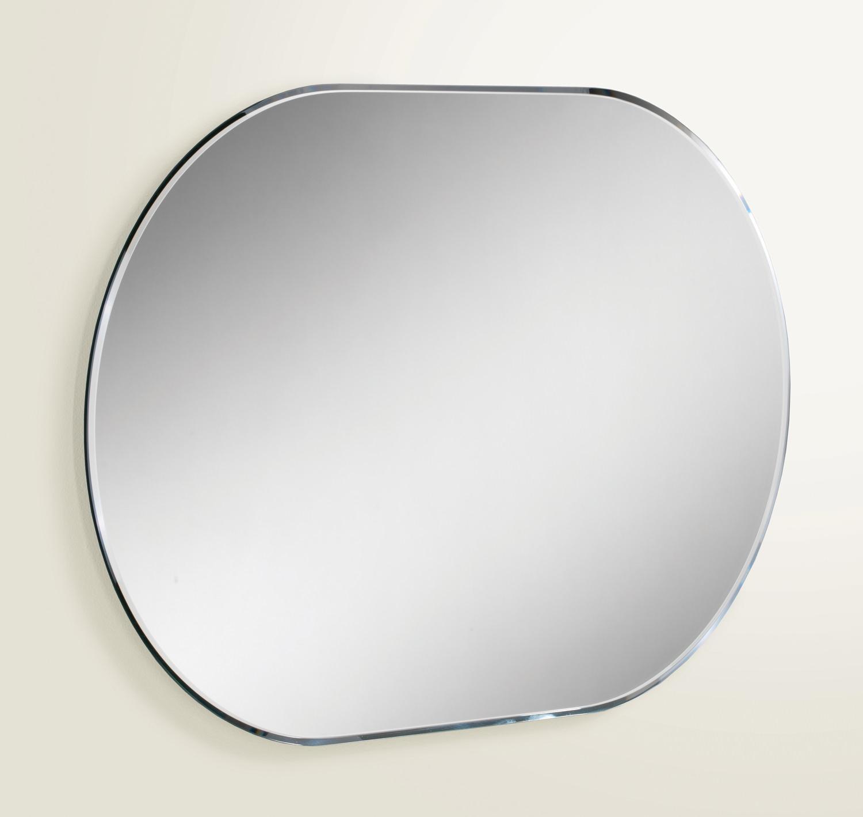 Hib Jessica Lozenge Shaped Bevelled Mirror 400 X 600Mm | 76100000 Regarding Bevelled Mirror (View 15 of 20)