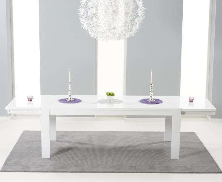 High Gloss Dining Furniture – Wonderful Round High Gloss Dining With Regard To Extending White Gloss Dining Tables (View 6 of 20)
