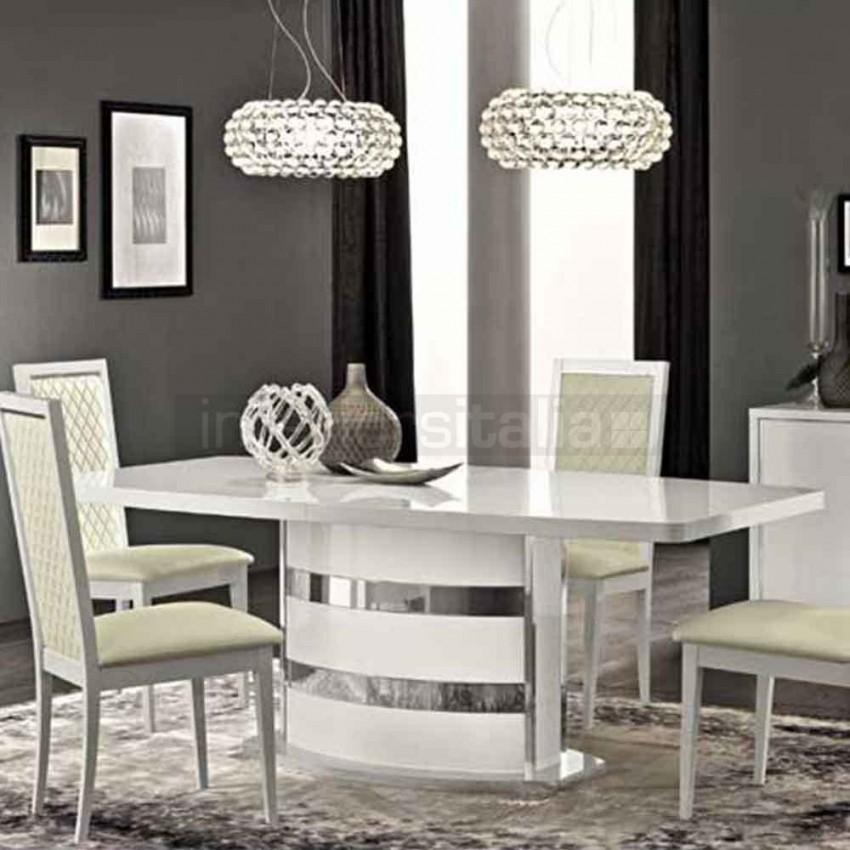 High Gloss Dining Table | Roma | Clearance Sale Inside Roma Dining Tables (View 17 of 20)
