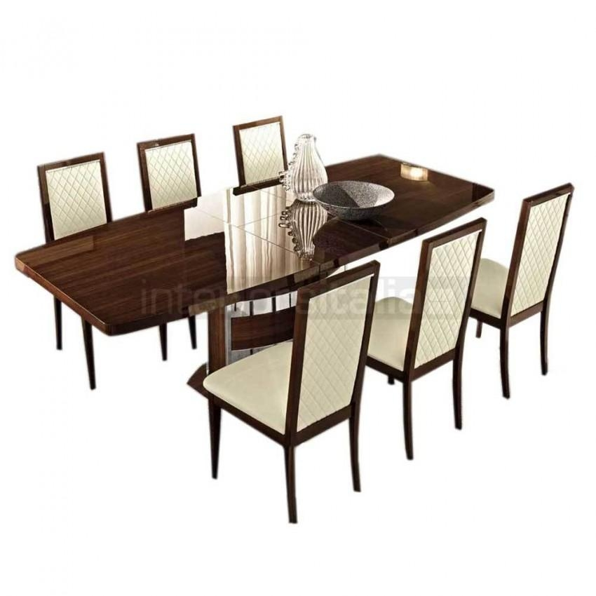 High Gloss Dining Table | Roma | Clearance Sale Intended For Roma Dining Tables (View 6 of 20)