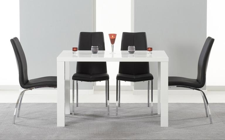 High Gloss Dining Table Sets | Great Furniture Trading Company In Gloss Dining Tables (Image 10 of 20)