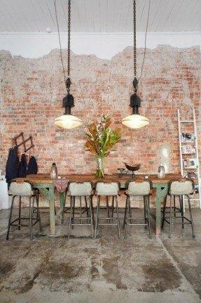 High Kitchen Table With Stools – Foter Inside Dining Tables With Attached Stools (View 9 of 20)