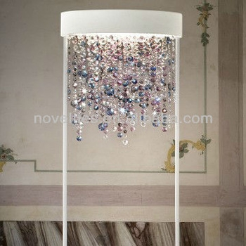 High Quality Ola Crystal Chandelier Floor Standing Lamp Buy Inside Crystal Chandelier Standing Lamps (Image 15 of 25)