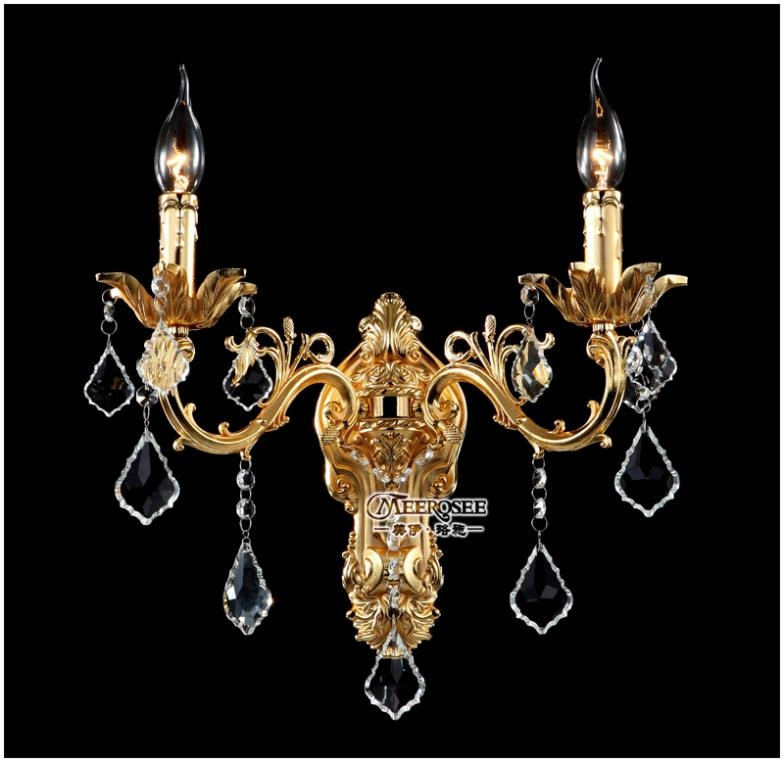 High Quality Wall Mounted Chandelier Buy Cheap Wall Mounted Within Wall Mount Crystal Chandeliers (View 16 of 25)