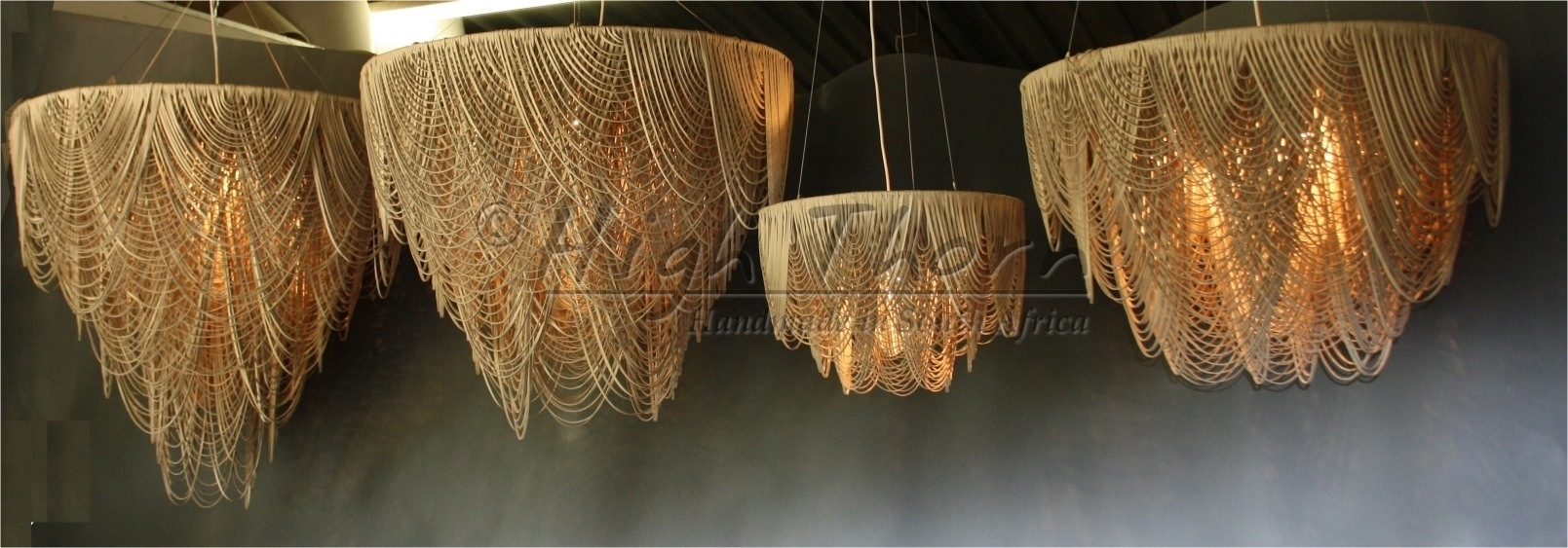 High Thorn Handmade In South Africa Lighting Furniture Home In Leather Chandeliers (View 6 of 25)