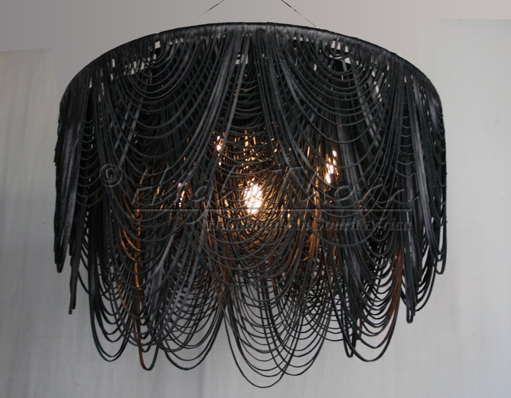 Featured Image of Leather Chandeliers