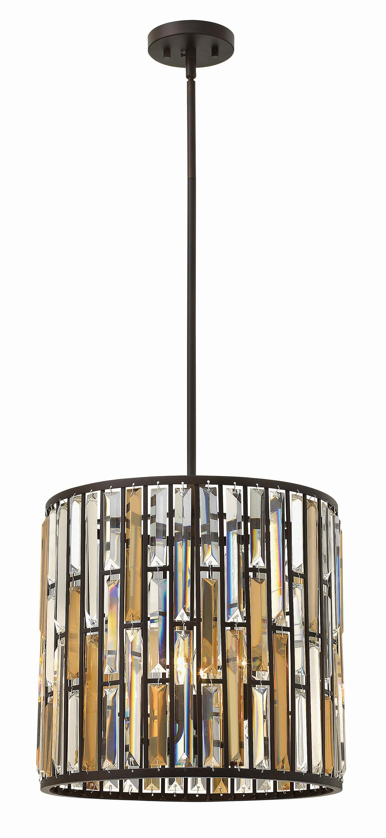 Hinkley Lighting Fr33734 Gemma Collection Inverted Pendant Traditional Throughout Inverted Pendant Chandeliers (Image 12 of 25)