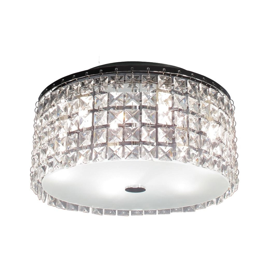 Home Decor : Flush Mount Led Ceiling Light Fixtures Small Backyard Pertaining To Mirror Ceiling Light (Image 9 of 20)