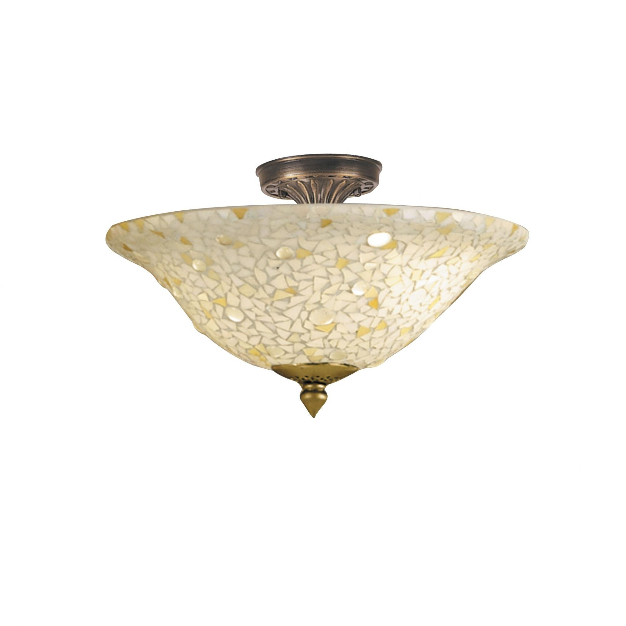 Home Decor : Flush Mount Led Ceiling Light Fixtures Wall Mirror Within Mirror Ceiling Light (View 15 of 20)