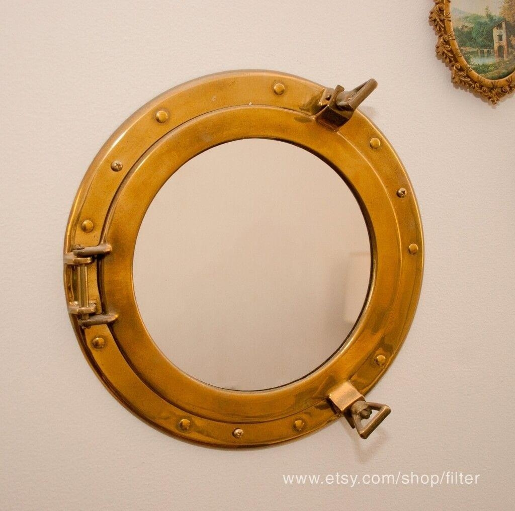 Home Decoration: Fascinating Porthole Mirror Design For Bathroom Inside Porthole Mirrors For Sale (View 18 of 20)