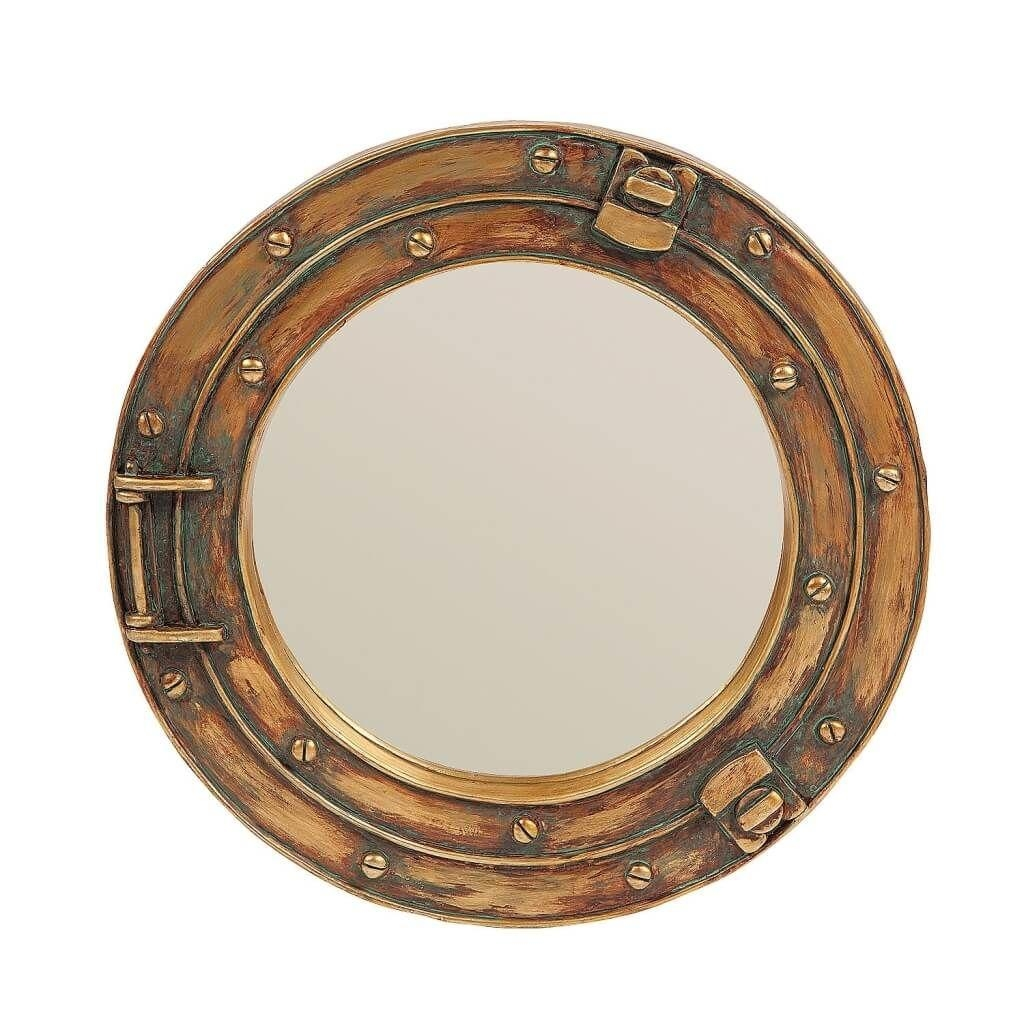 Home Decoration: Fascinating Porthole Mirror Design For Bathroom Within Porthole Mirrors For Sale (Image 9 of 20)