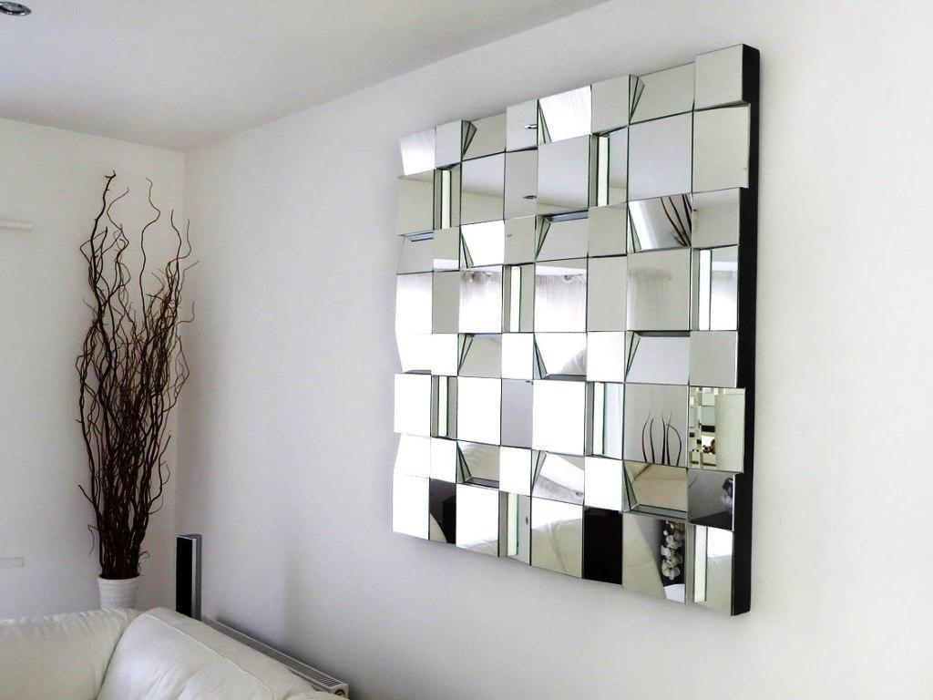 Home Decorative Mirrors Contemporary Within White Decorative Mirrors (Image 14 of 20)