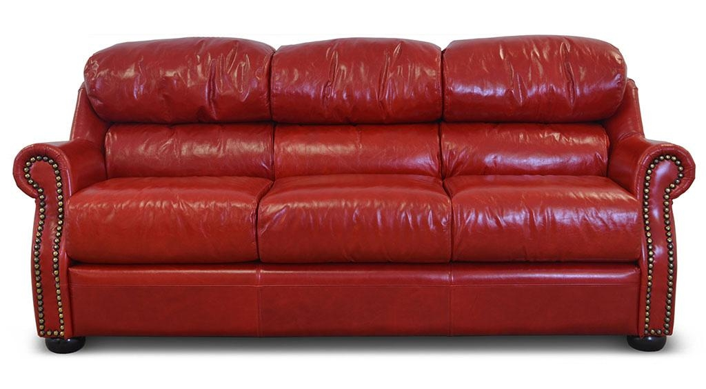 Home ‹‹ The Leather Sofa Company Inside Dark Red Leather Couches (View 20 of 20)