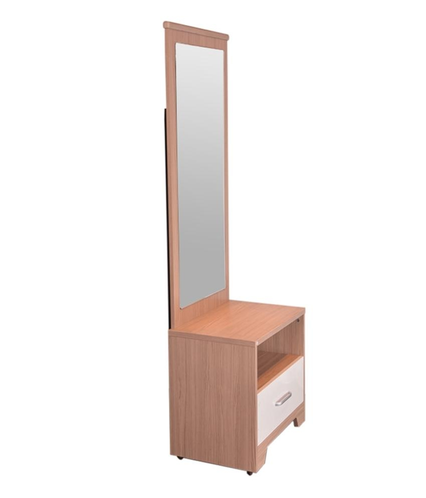 Hometown Ambra Dressing Table With Full Mirror – Buy Hometown For Dressing Mirror Price (View 11 of 20)