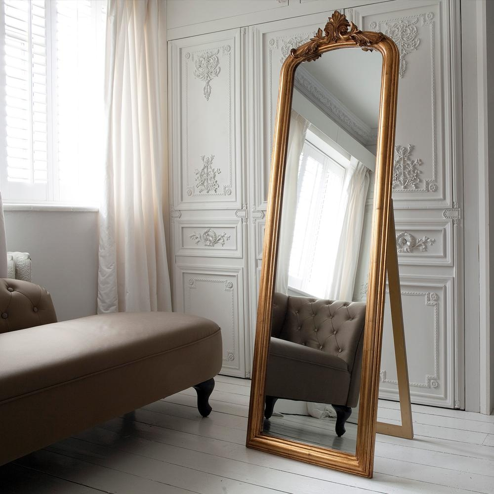 Homeware: Full Length Mirror On A Stand | Floor Length Wall With Regard To Long Dressing Mirror (Image 13 of 20)