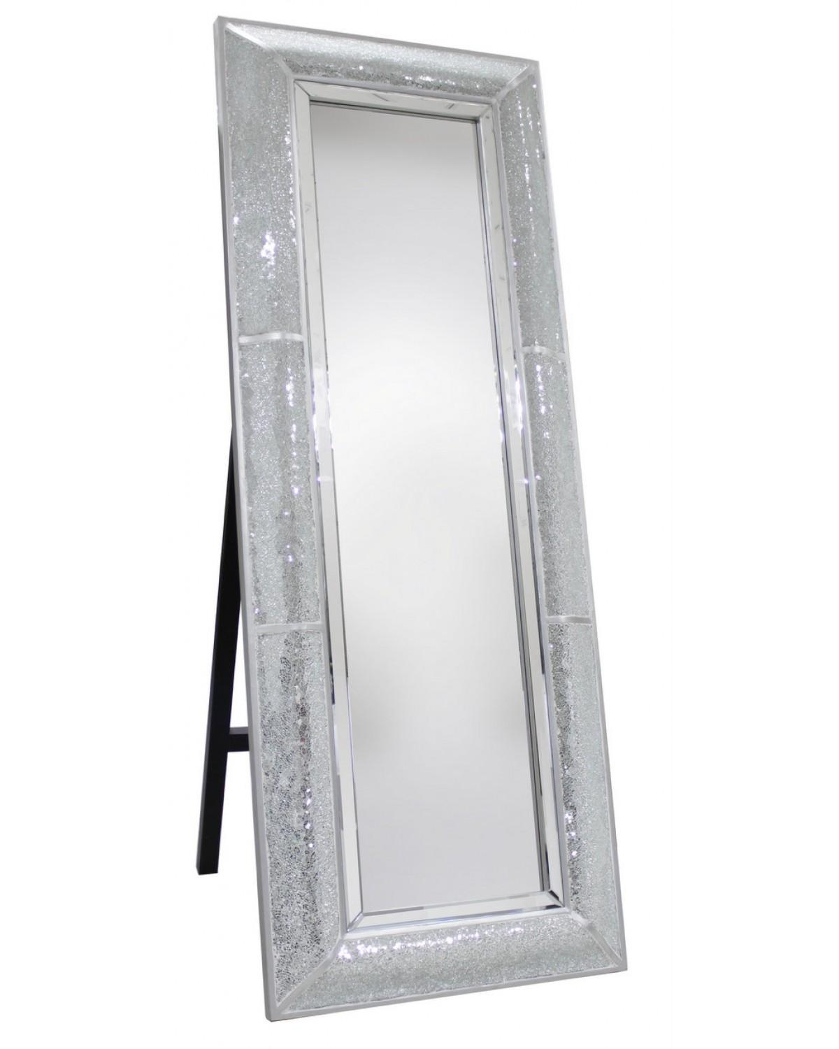 Homeware: Full Length Mirror On A Stand | Floor Length Wall Within Silver Long Mirror (Image 9 of 20)