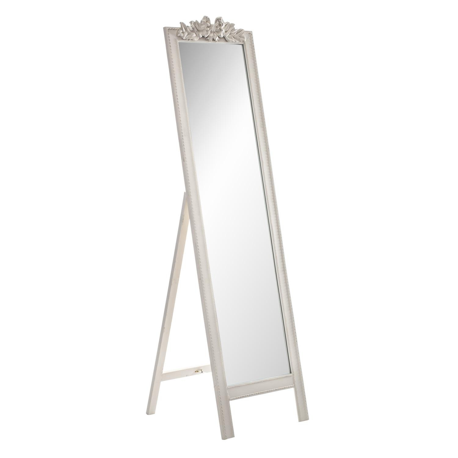 Homeware: Oval Full Length Standing Mirror | Large Floor Mirrors Intended For Free Standing Oak Mirror (Image 20 of 20)