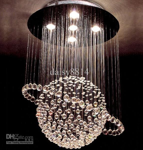 Featured Image of Crystal Ball Chandeliers Lighting Fixtures