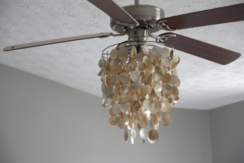 Housetweaking Within Chandelier Light Fixture For Ceiling Fan (Image 21 of 25)