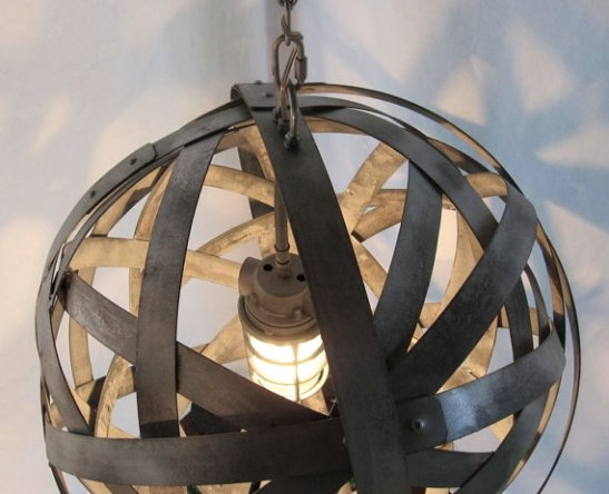 How To Make 10 Incredible Chandeliers Created Out Of Everyday Junk Inside Metal Ball Chandeliers (Image 16 of 25)
