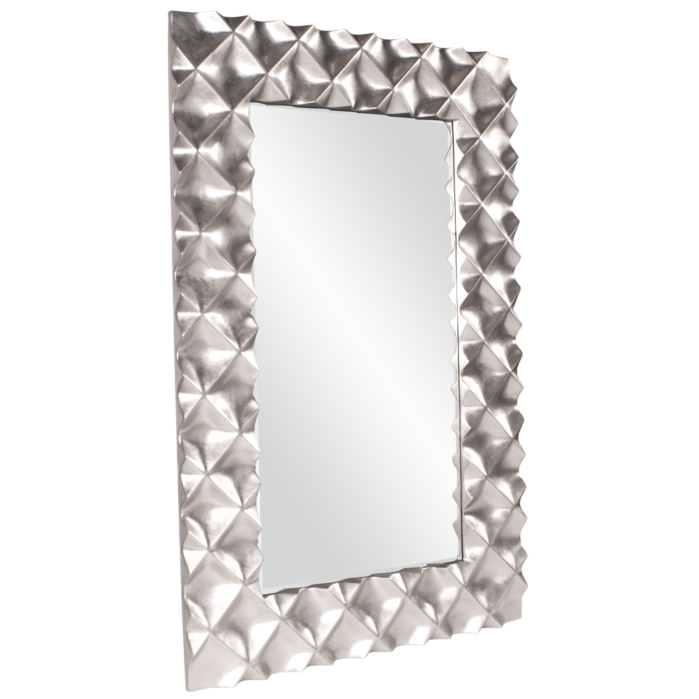 Featured Image of Modern Silver Mirror