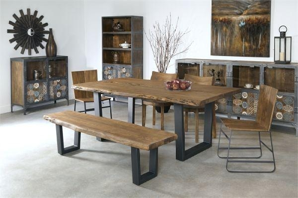 Hurwitz Mintz Furniture. Acacia Dining Table In Acacia Dining Tables (Photo 1 of 20)