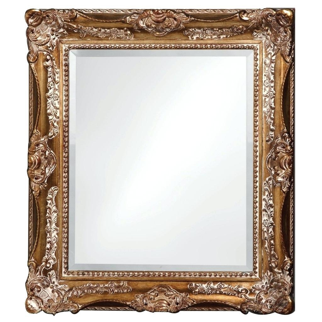 Image 1Large Silver Ornate Wall Mirror Framed Nz – Shopwiz In Silver Ornate Wall Mirror (View 18 of 20)