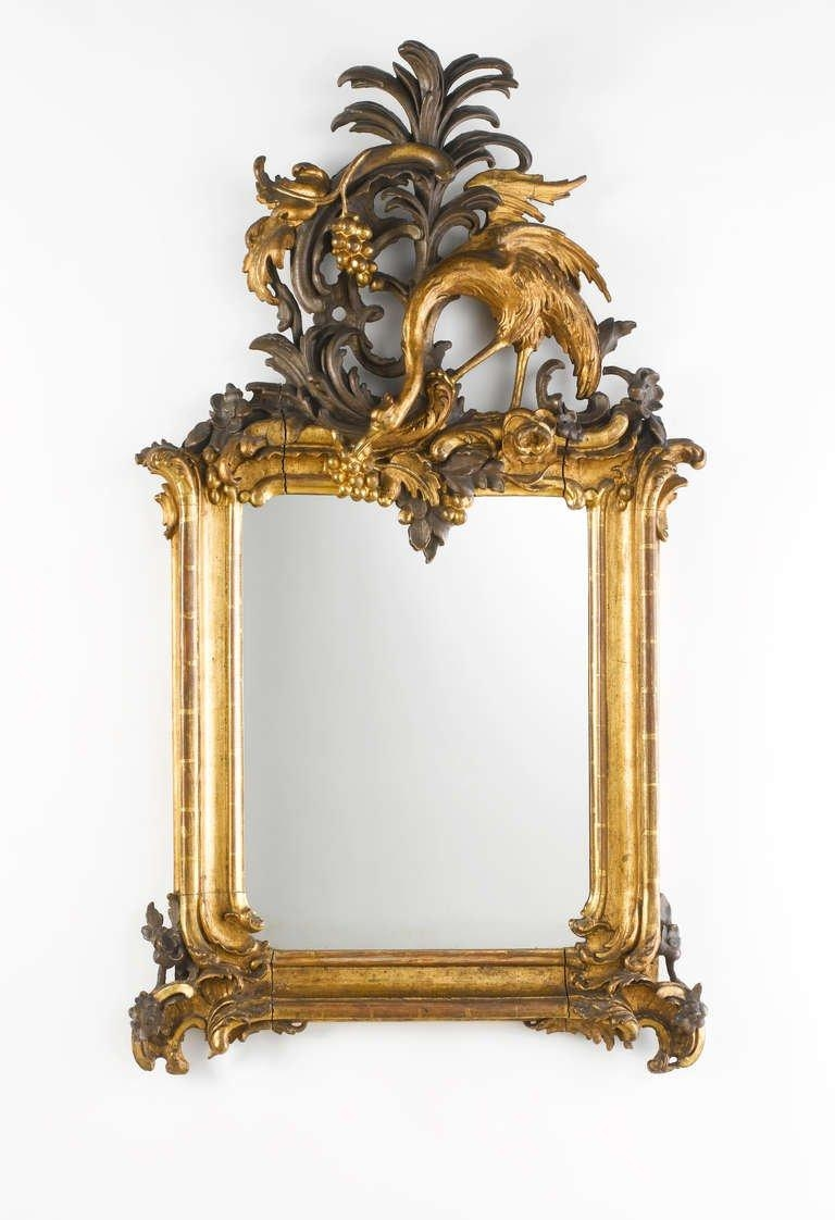 Important Royal German Rococo Mirror, Circa 1745 1755 For Sale At Regarding Roccoco Mirror (Image 13 of 20)