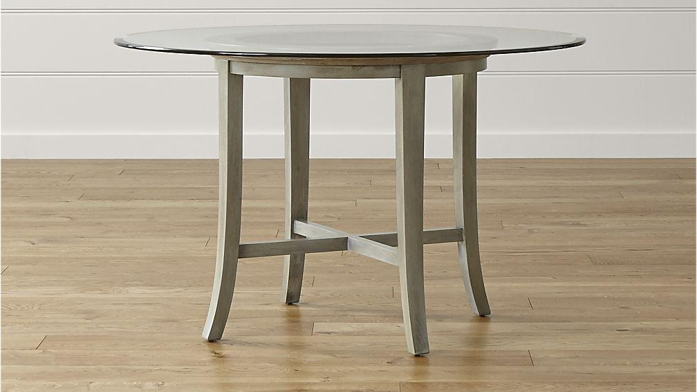 Imposing Decoration Crate And Barrel Round Dining Table Inspiring With Regard To Cheap Extendable Dining Tables (Image 13 of 20)
