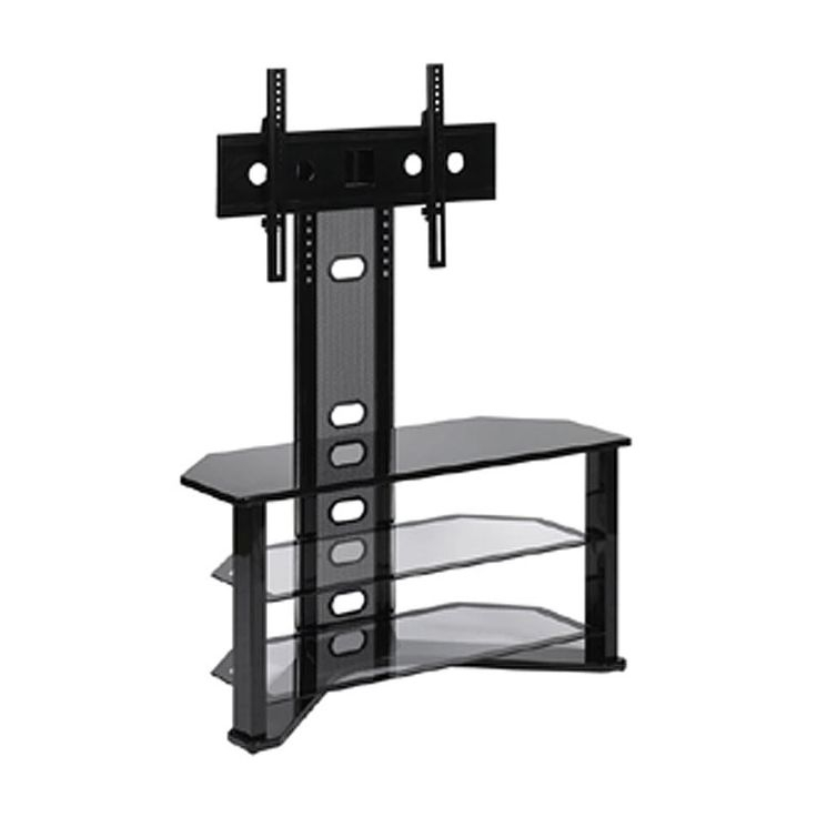 Impressive Best Compact Corner TV Stands Intended For Tv Stand Small Space Arlene Designs (Image 31 of 50)