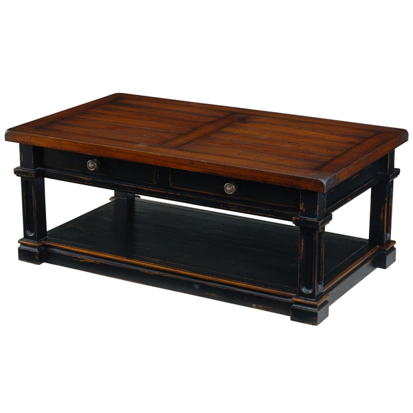 Impressive Best Country Coffee Tables With Regard To Painted Coffee Tables Country Coffee Table Distressed Coffee (Image 25 of 50)